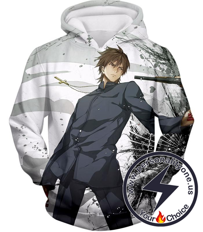 Fate Stay Night Cool Master of Assasin Kirei Kotomine Hoodie