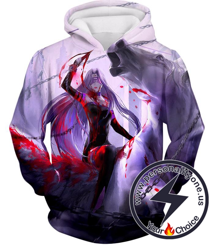 Fate Stay Night Super Cool Medusa Rider Servant Action Hoodie